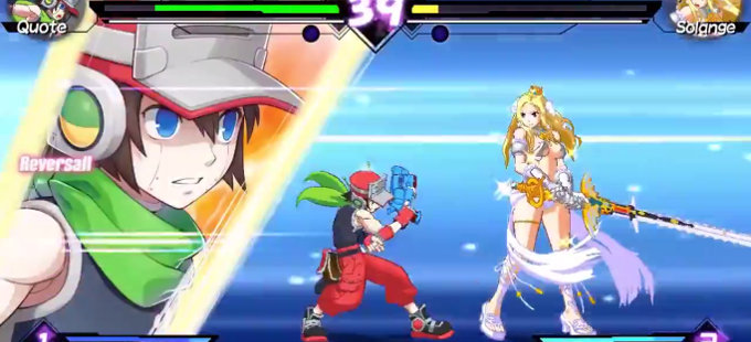 Quote regresa en Blade Strangers para Nintendo Switch