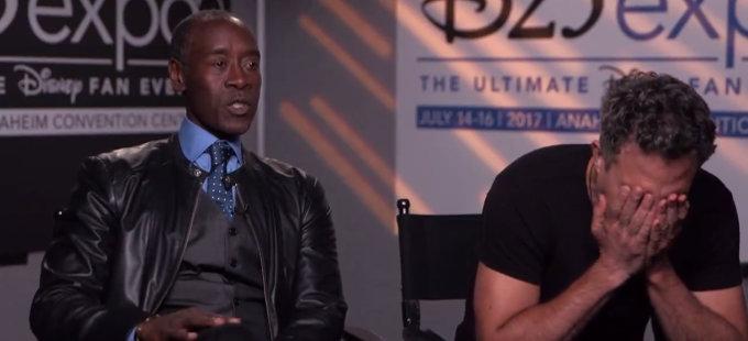 Mark Ruffalo no tiene el guión completo de Avengers 4