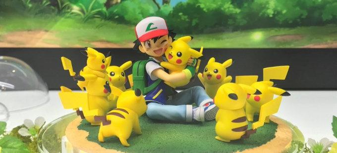 Nuevas figuras de Pokémon desde la Mega Hobby Expo 2018