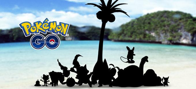Las Formas de Alola en Pokémon GO llegarán próximamente