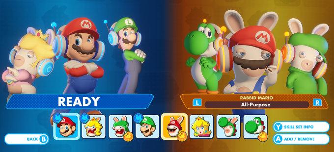 Mario + Rabbids Kingdom Battle para Nintendo Switch - ¿Por qué no tiene co-op en línea?