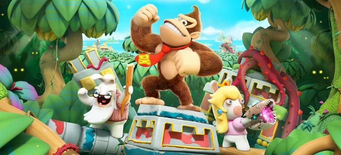 Mario + Rabbids Kingdom Battle para Nintendo Switch consigue a Donkey Kong en junio
