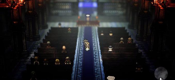 Octopath Traveler para Nintendo Switch gana a Cyrus y Ophilia
