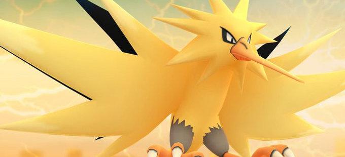 Es tu oportunidad de tener a Zapdos en Pokémon GO