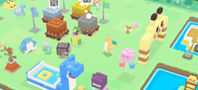 "Pokémon Quest para Nintendo Switch, el ""hijo"" de Minecraft y Pokémon"