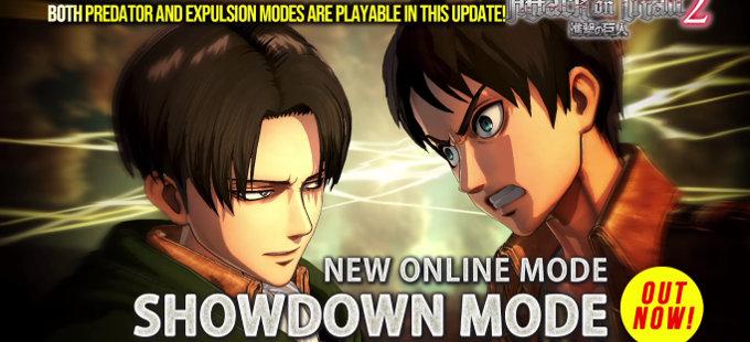El Showdon Mode de Attack on Titan 2 para Nintendo Switch en acción