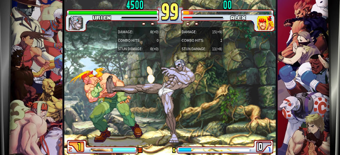 ¿Qué hay con Training y Versus en Street Fighter 30th Anniversary para Nintendo Switch?