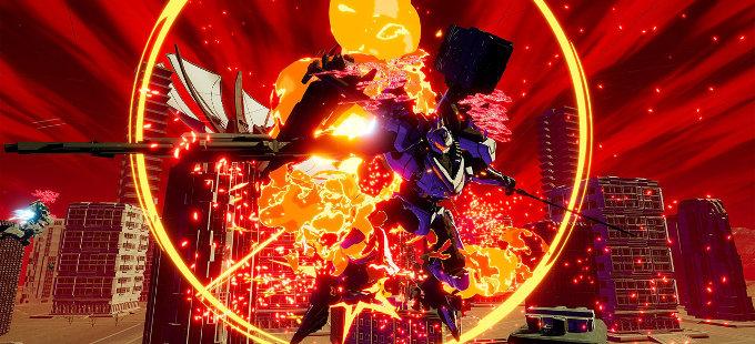 DAEMON X MACHINA para Nintendo Switch y su colorida apariencia