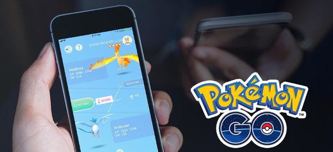 Intercambio de pokémon en Pokémon GO, más complicado de lo que debería