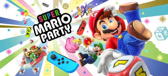 Super Mario Party para Nintendo Switch saldrá en octubre