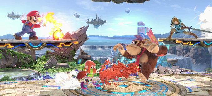 Super Smash Bros. Ultimate para Nintendo Switch impacta al mundo