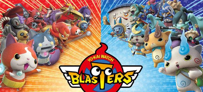 Yo-Kai Watch Blasters para Nintendo 3DS viene a América