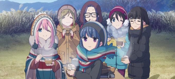 Anime curto de Laid-Back Camp é exibido em teaser