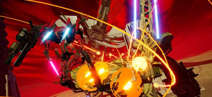 DAEMON x MACHINA para Nintendo Switch, con un poco de Monster Hunter