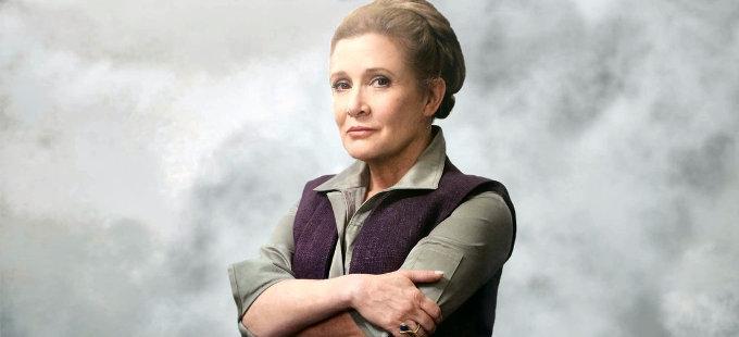 Carrie Fisher regresará en Star Wars: Episodio IX