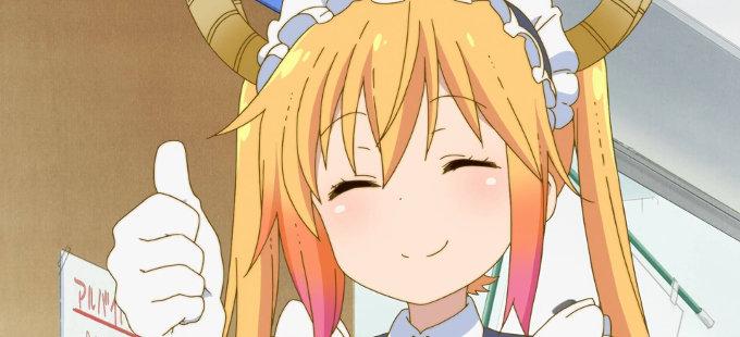 Kobayashi-san Chi no Maid Dragon estará en español en Crunchyroll
