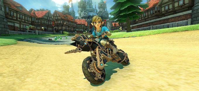 Mario Kart 8 Deluxe para Nintendo Switch ahora tiene a Link de Breath of the Wild