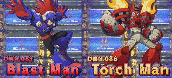 Mega Man 11 para Nintendo Switch – Blast Man y Torch Man en acción