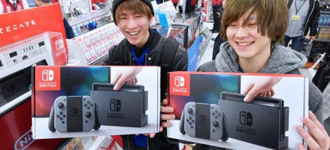 Nintendo Switch salva el mercado de videojuegos en Japón