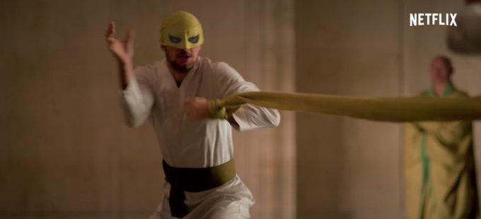 Segunda temporada de Iron Fist y los recuerdos de Danny Rand