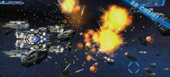 Starship Avenger: Operation Take Back Earth para Nintendo Switch, un shoot 'em up defensivo
