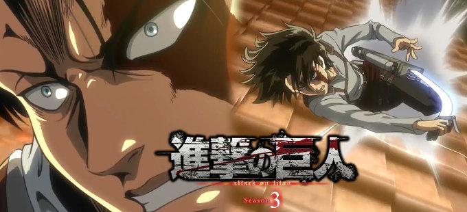 Tercera temporada de Shingeki no Kyojin – Escucha Red Swan de YOSHIKI