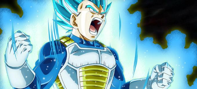 Vegeta Super Saiyajin Blue no es canon en Dragon Ball Super