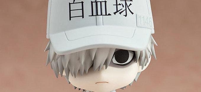 Nendoroid de White Blood Cell de Hataraku Saibou sale en enero