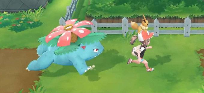 Pokémon Let's Go Pikachu! y Eevee! tienen Mega Evoluciones