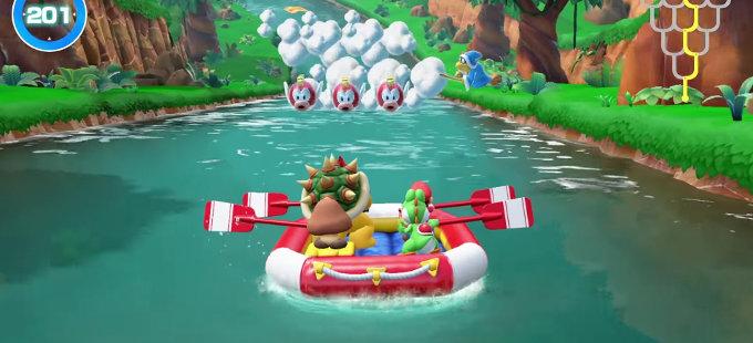 Super Mario Party para Nintendo Switch y su modo River Survival