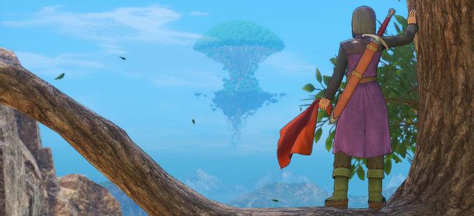 Dragon Quest XI S para Nintendo Switch tomará algo de tiempo
