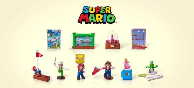 ¡Los juguetes de Mario Bros. de la Cajita Feliz en México regresan!