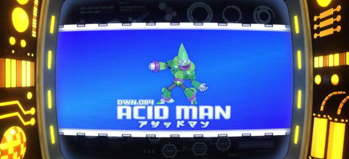 Mega Man 11 para Nintendo Switch obtiene a Acid Man