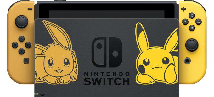 ¿Quieres un Nintendo Switch de Pokémon Let's Go Pikachu! y Eevee!?