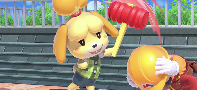 Super Smash Bros. Ultimate consigue a Isabelle de Animal Crossing