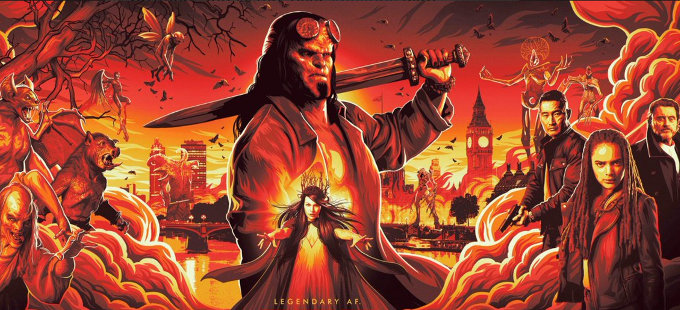 Primer vistazo a la nueva película de Hellboy