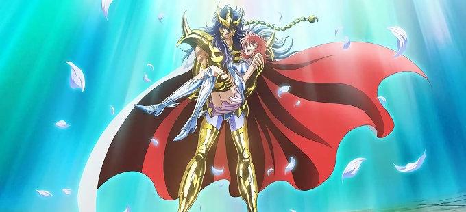 Primer vistazo al anime de Saint Seiya: Saintia Shō