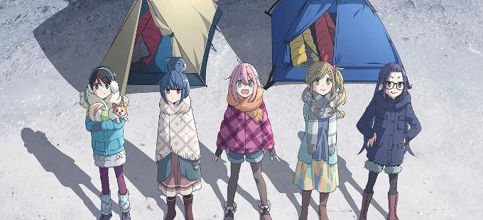 Segunda temporada de Yuru Camp anunciada
