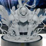 Figura de Alphonse y Ed Elric de Fullmetal Alchemist