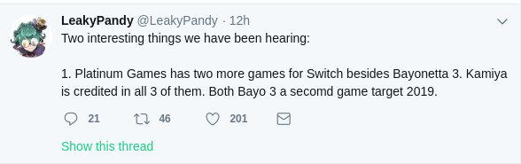 ¿Trabaja PlatinumGames en tres juegos para Nintendo Switch?