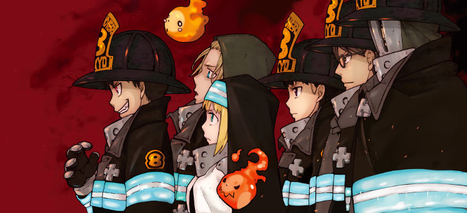 Se confirma el anime de Fire Brigade of Flames