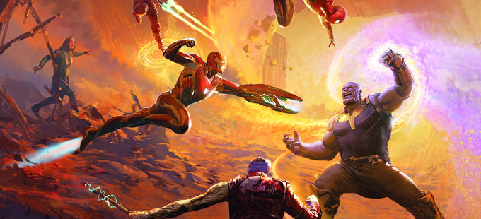 Un vistazo a Marvel's Avengers: Infinity War - The Art of the Movie
