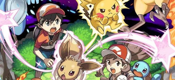 Pokémon Let's Go Pikachu! y Eevee! podría sorprender con sus ventas