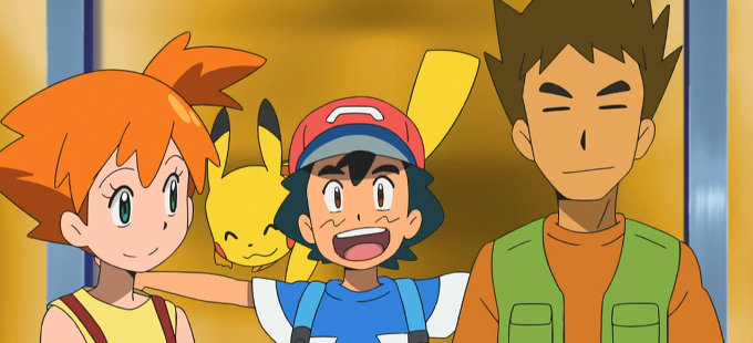 Misty y Brock regresan al anime de Pokémon Sun & Moon