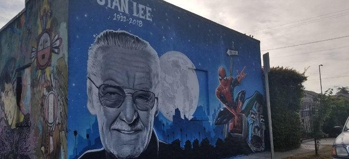 Stan Lee consigue su propio mural
