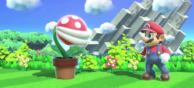 ¿Cómo llegó Piranha Plant a Super Smash Bros. Ultimate?
