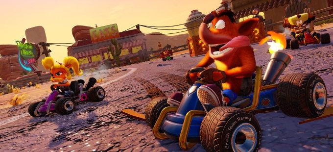 Crash Team Racing Nitro-Fueled para Nintendo Switch revelado
