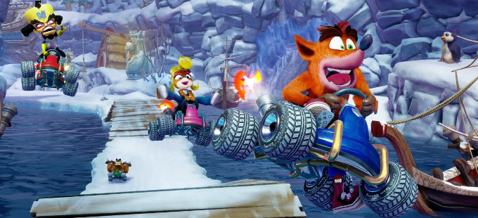 ¿Qué esperar de Crash Team Racing Nitro-Fueled para Nintendo Switch?