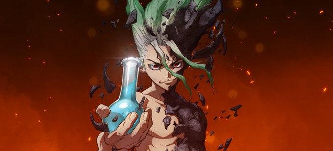 El anime de Dr. Stone consigue su primer avance