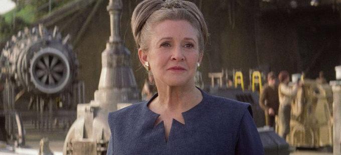 Carrie Fisher se verá natural en Star Wars: Episodio IX